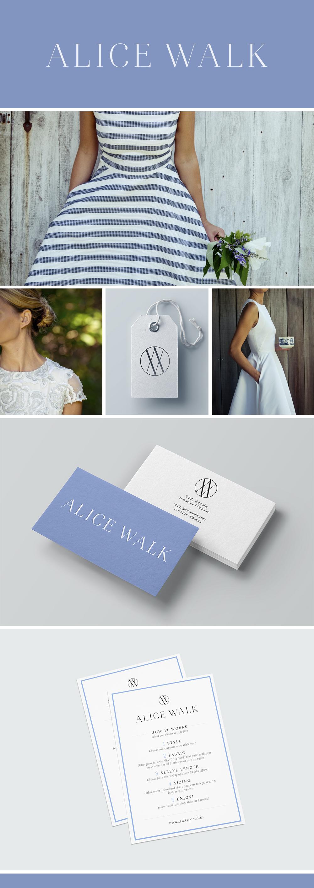 Alice Walk branding by JSGD