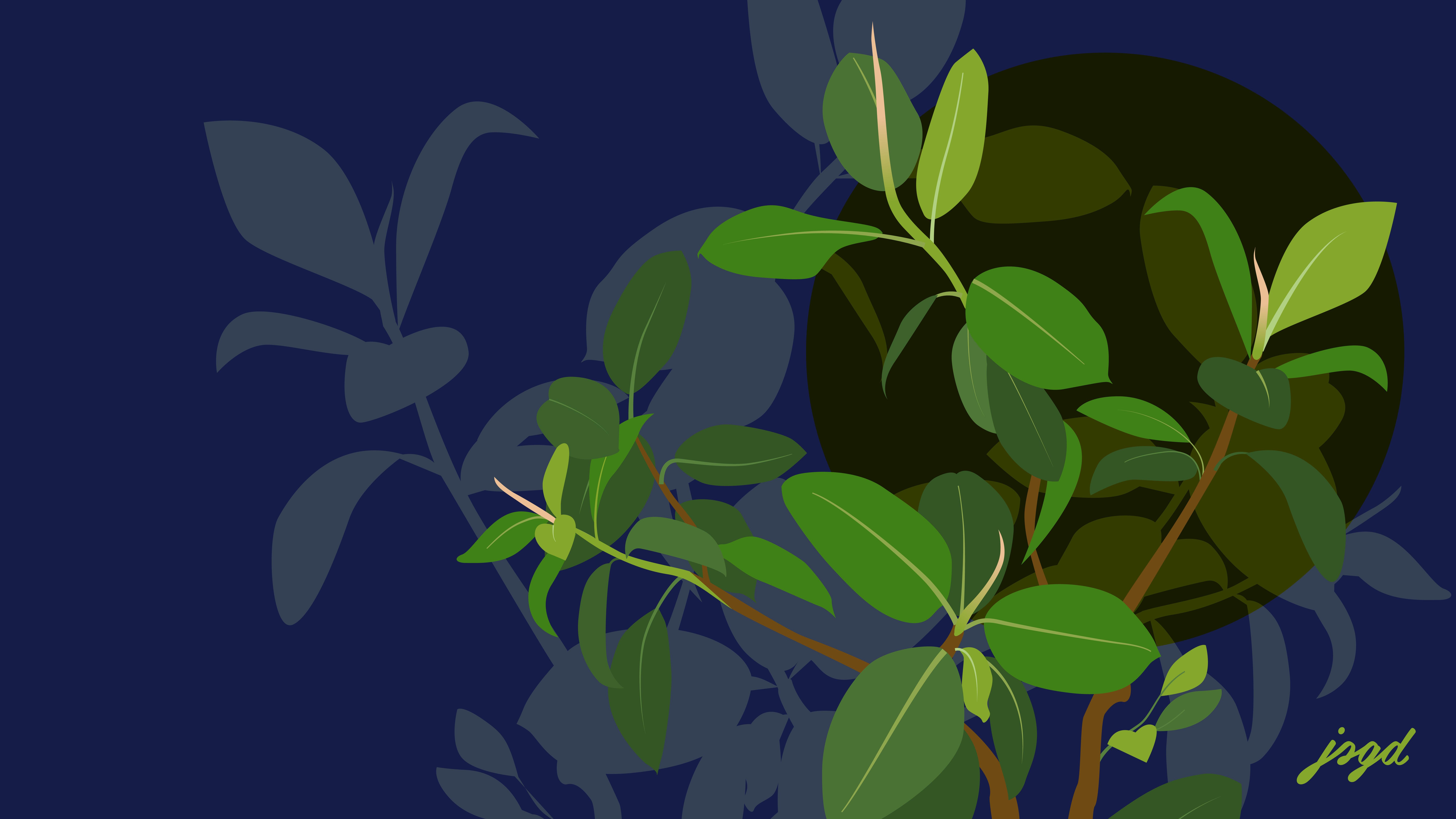 Jessica's Greenery - Wallpaper