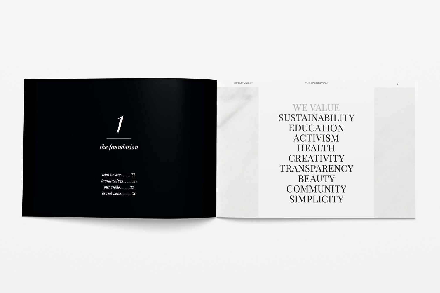 Follain Brand Book by JSGD