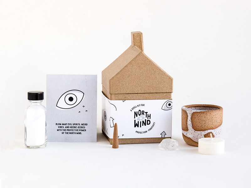 JSGD Hauswitch Spellkit Branding and Packaging