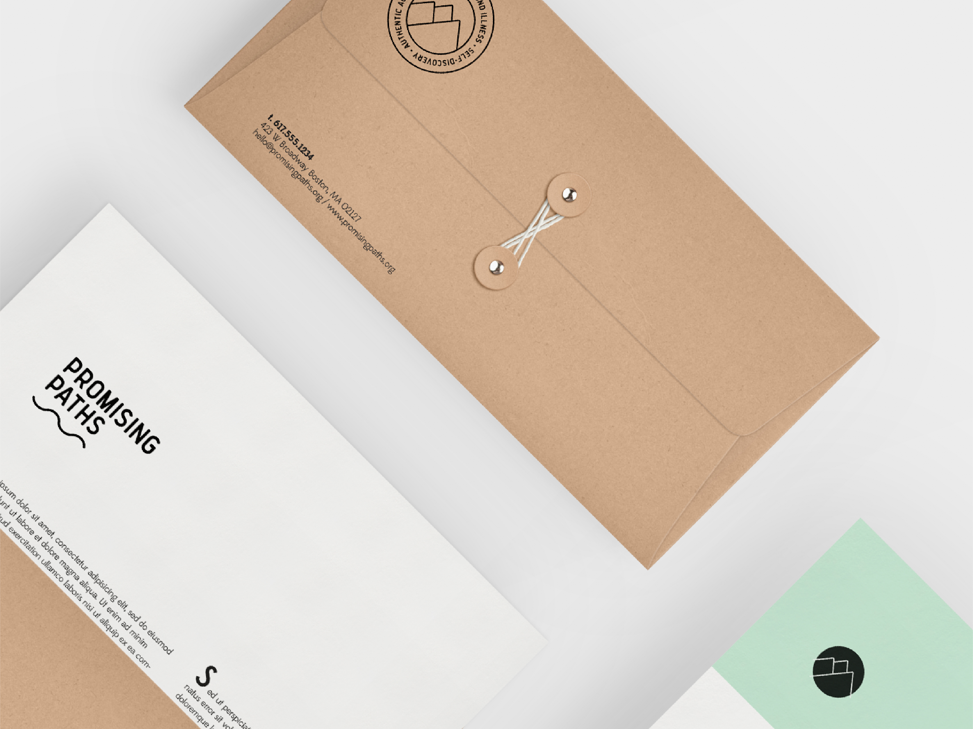 Promising Paths branding by JSGD