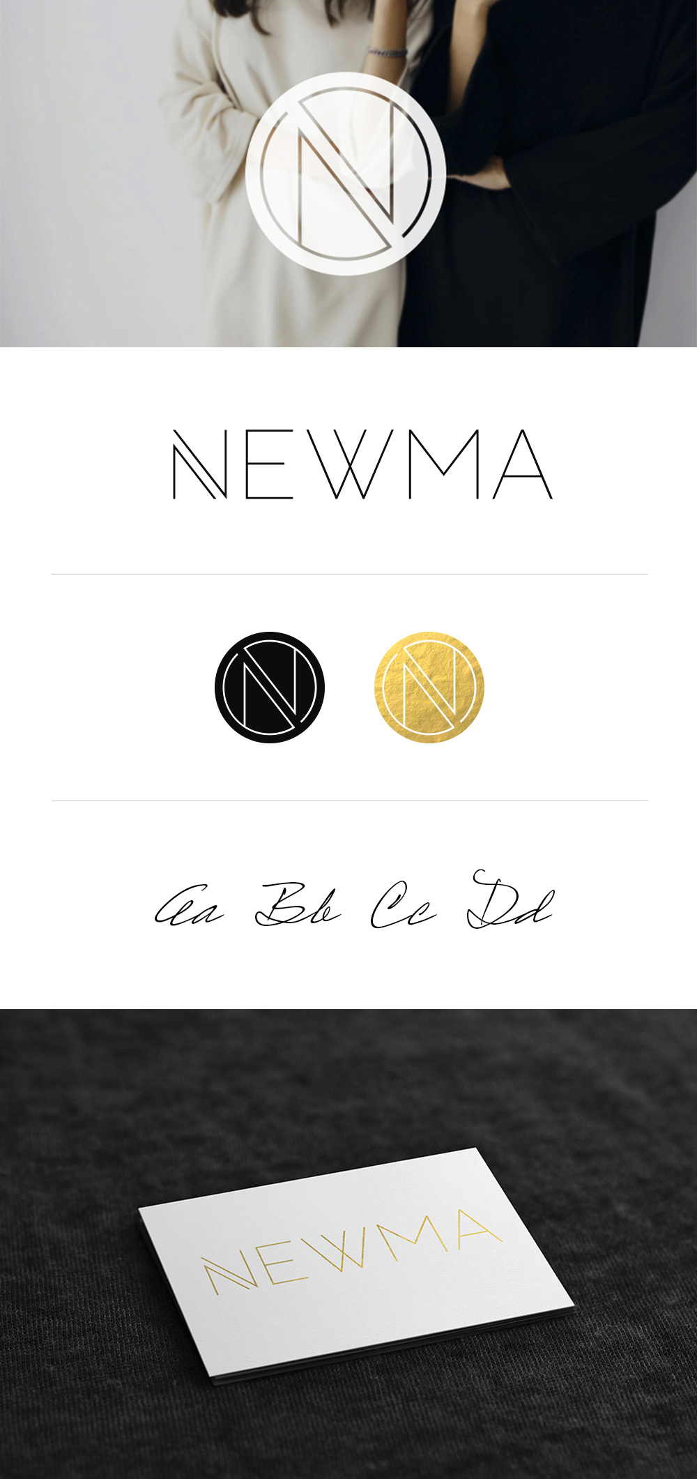 NEWMA branding by JSGD