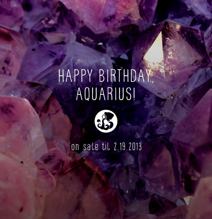 happy birthday, aquarius...   JSGD   Boston Brand Development and Web ...