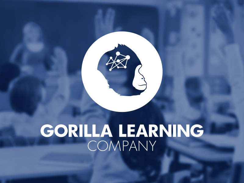 Gorilla Learning Company branding by JSGD