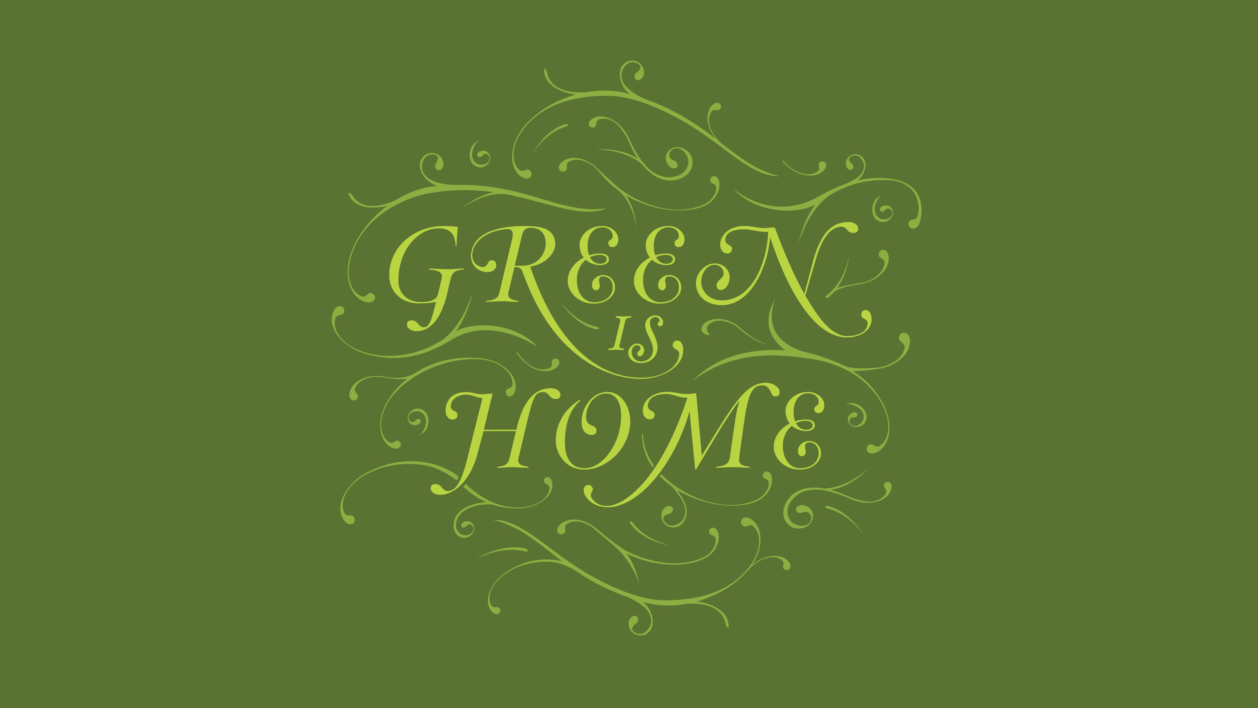 Mitchell's Greenery - Wallpaper
