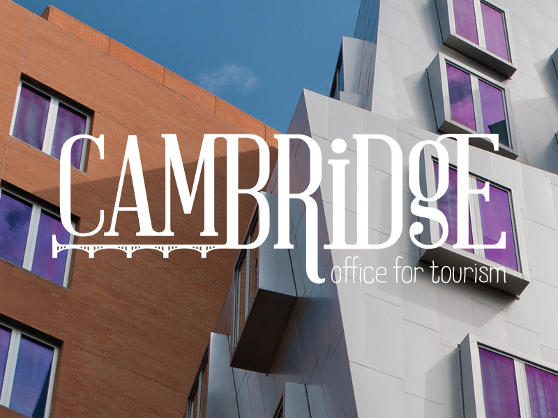 Cambridge Office for Tourism Logo by JSGD