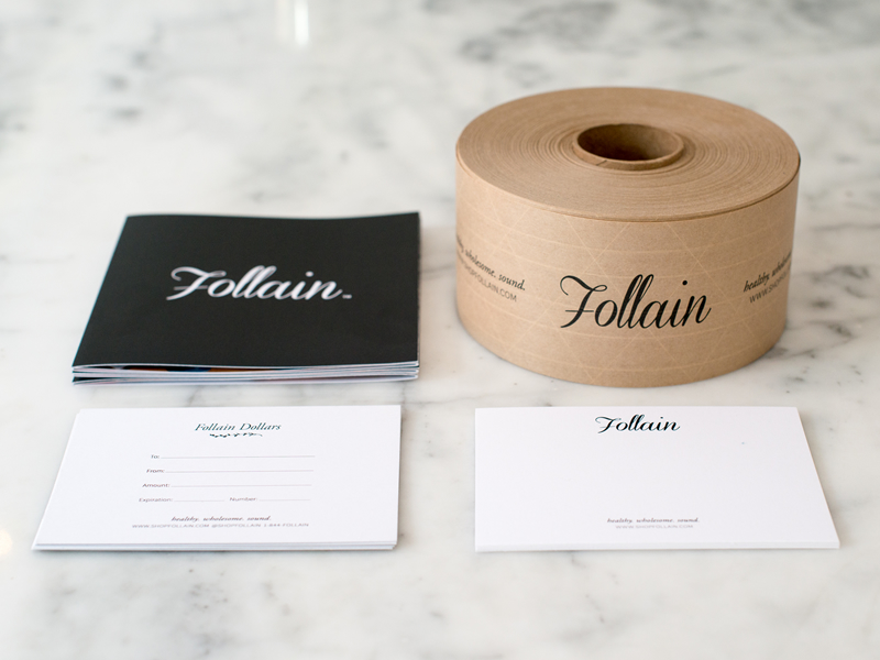 Follain branding by JSGD