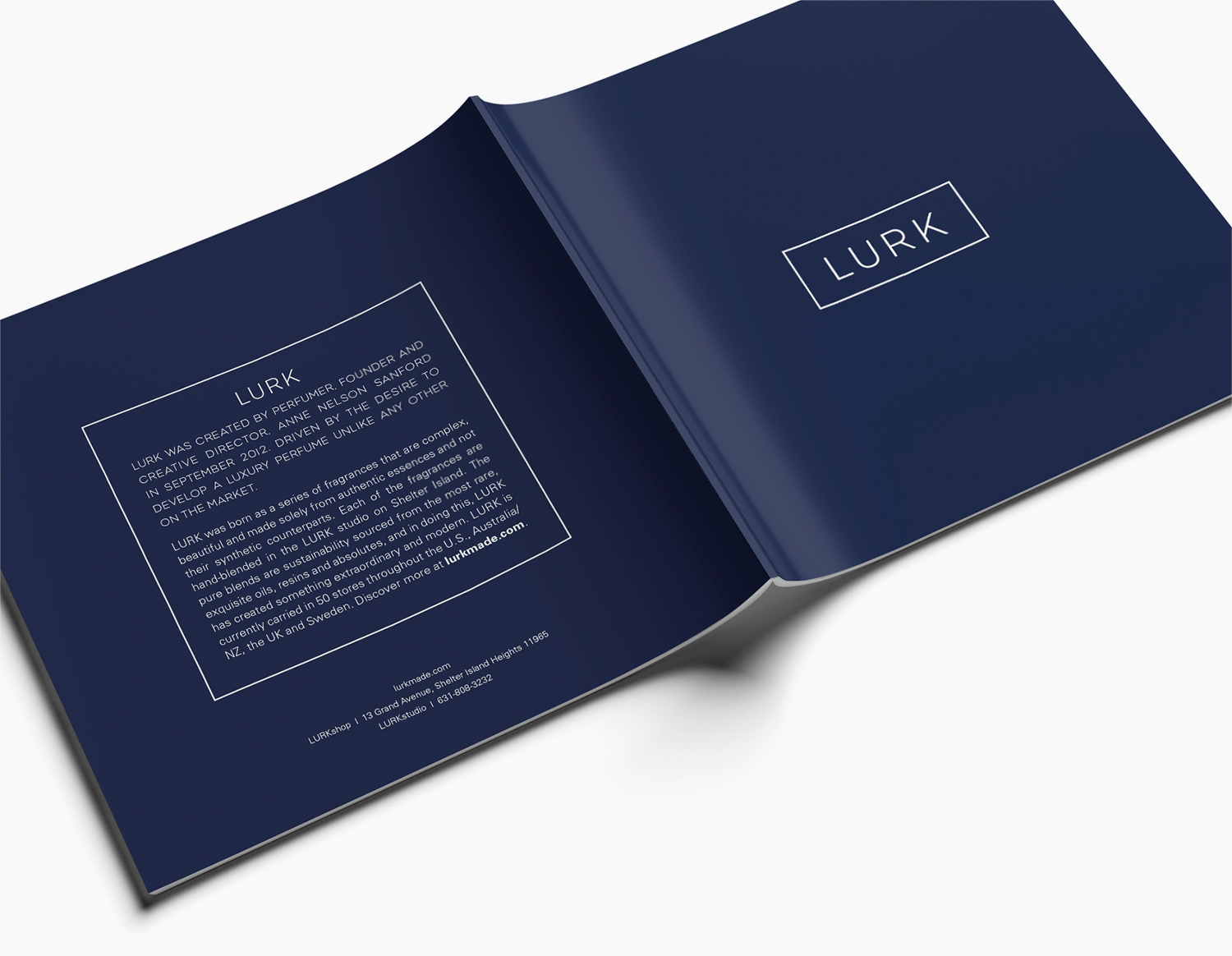 LURK Brand Book by JSGD