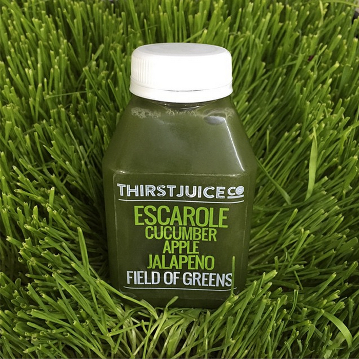 Thirst Juice Co bottle design by JSGD