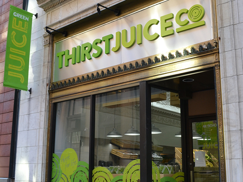 Thirst Juice Co branding by JSGD