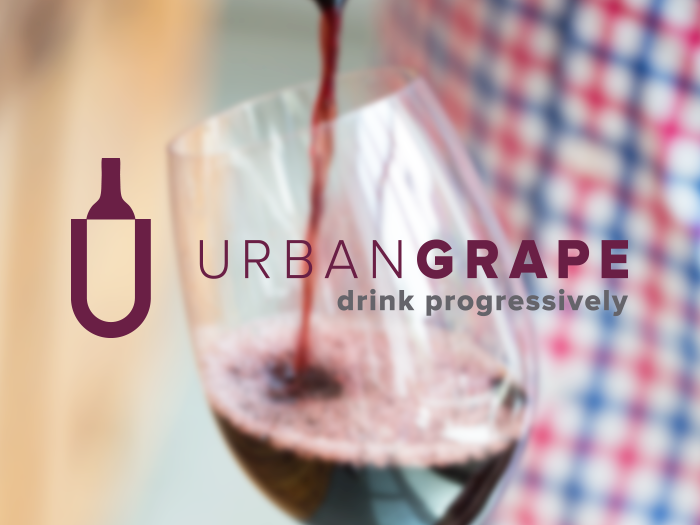 Urban Grape rebrand by JSGD